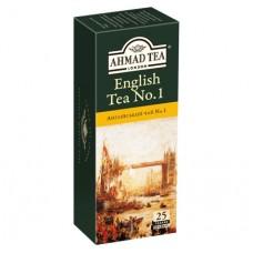 Ahmad Tea Английский №1 в пак, 25х2г