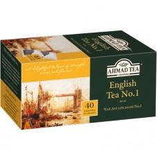 Ahmad Tea Английский №1 в пак, 40х2г