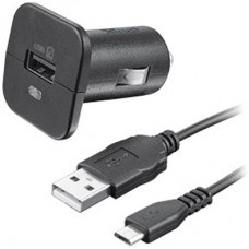 авто зарядка TRUST URBAN 5W with micro-USB cable 1m (Black)