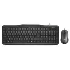 Комплект TRUST Classicline Wired Keyboard and Mouse