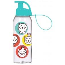 Бутылка HEREVIN CAT SMILE 0.5 л для спорта (161415-170)