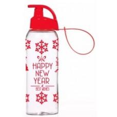 Бутылка HEREVIN Happy New Year 0.5 л для спорта (161415-836)