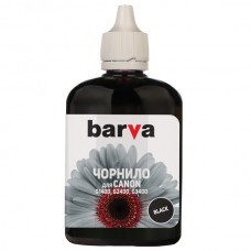 чернила BARVA CANON G1400/G2400/G3400 BLACK 90 г (I-BAR-CG490-090-B-P)