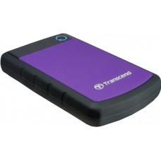"""Внешний жесткий диск TRANSCEND 1TB TS1TSJ25H3P Storejet 2.5"""" H3 Фиолетовый"""