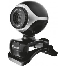 Комп.камера TRUST EXIS WEBCAM BLCK-SLVR