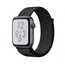 Розумний годинник Apple Watch Nike+ Series 4 GPS 44mm Gray Alum. w. Black Nike Sport l. Gray Alum. (MU7J2)