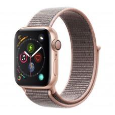 Розумний годинник Apple Watch Series 4 GPS 40mm Gold Alum. w. Pink Sand Sport l. Gold Alum. (MU692)