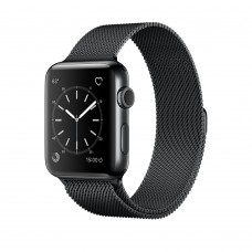 Умные часы Apple Watch Series 2 42mm Space Black Milanese (MNQ12)