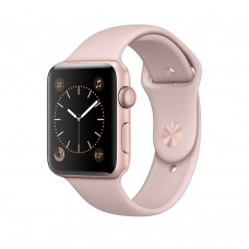 Умные часы Apple Watch Series 2 38mm Rose Gold Aluminum Sport Band Pink Sand (130–200mm) (MNNY2)