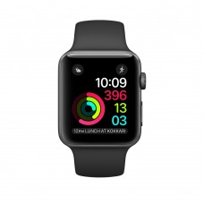 Apple Watch Series 1 42mm Space Gray Aluminum Case with Black Sport Band MP032