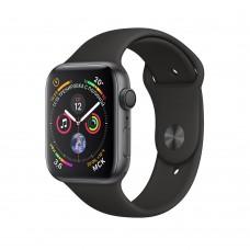Розумний годинник Apple Watch Series 4 GPS 44mm Gray Alum. w. Black Sport Band (MU6D2)