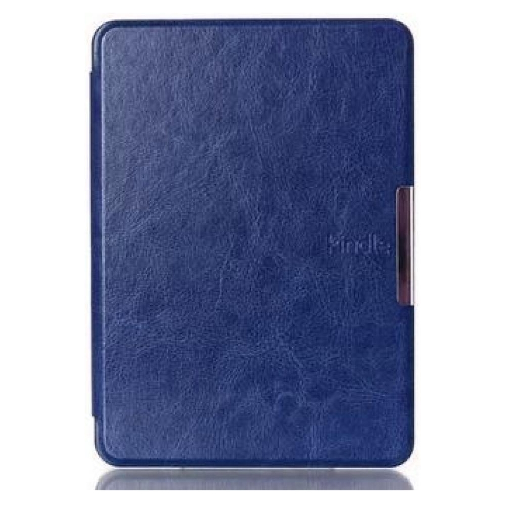 no name Чехол Leather case for Amazon Kindle 6 (7gen) Dark Blue 23218-10