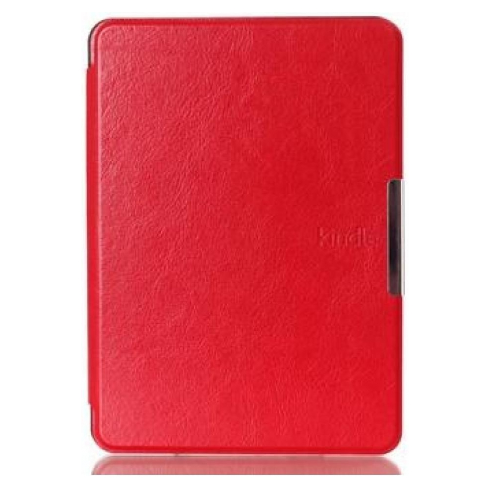 no name Чехол Leather case for Amazon Kindle 6 (7gen) Red 23221-10