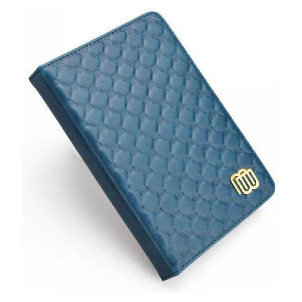 mybook Кожаный чехол с LED подсветкой для Kindle 5/Kindle 4 Синий (MB28863) 23210-10