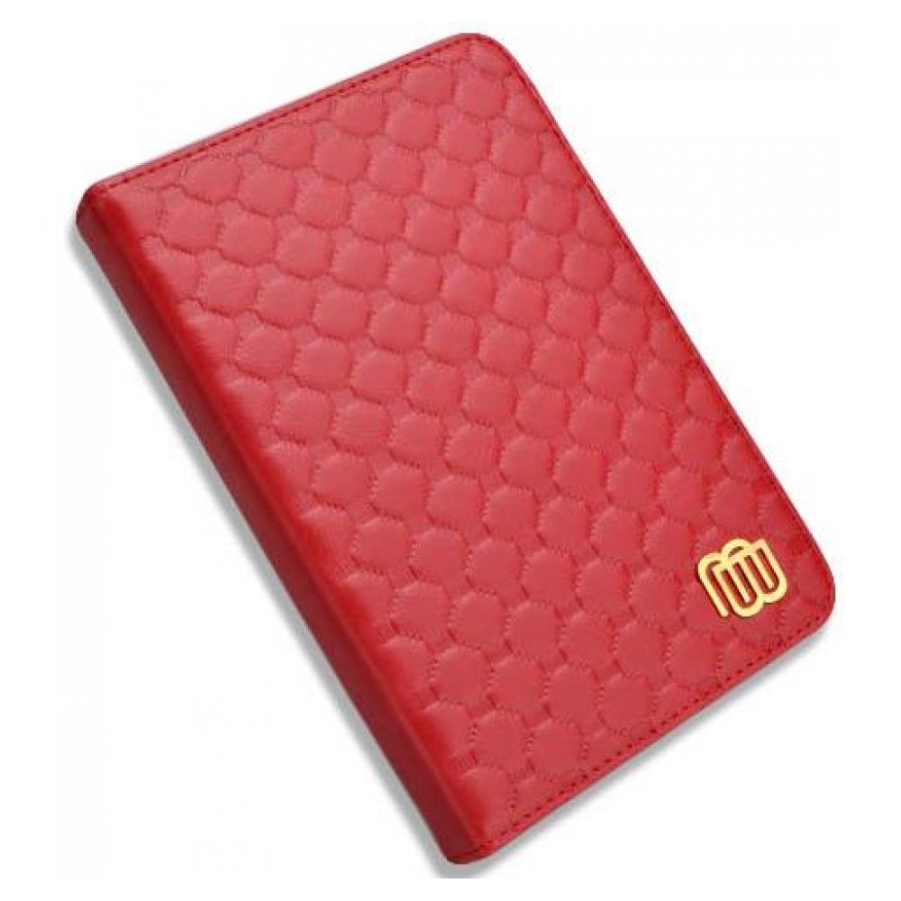 mybook Кожаный чехол с LED подсветкой для Kindle 5/Kindle 4 Красный (MB28832) 23209-10