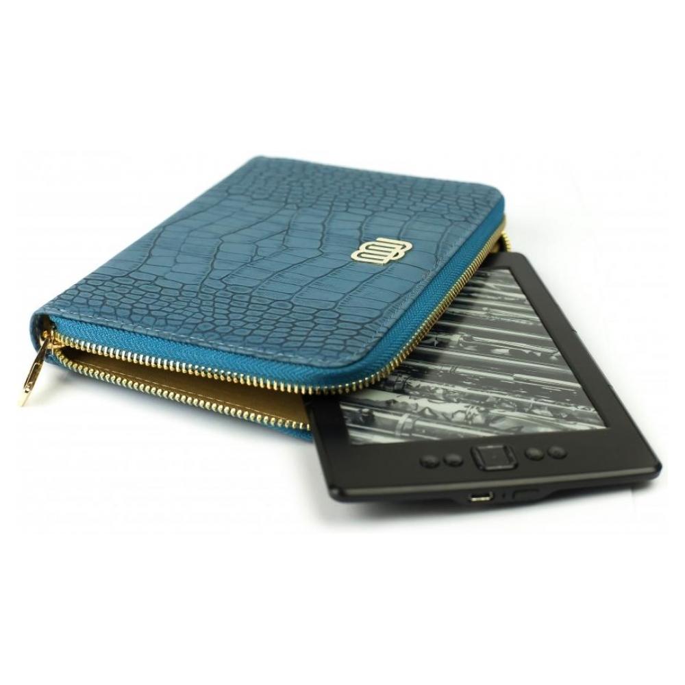 mybook Универсальный кожаный чехол Wallet Style для планшетов/книг Royal Blue (MB30463) 23211-10