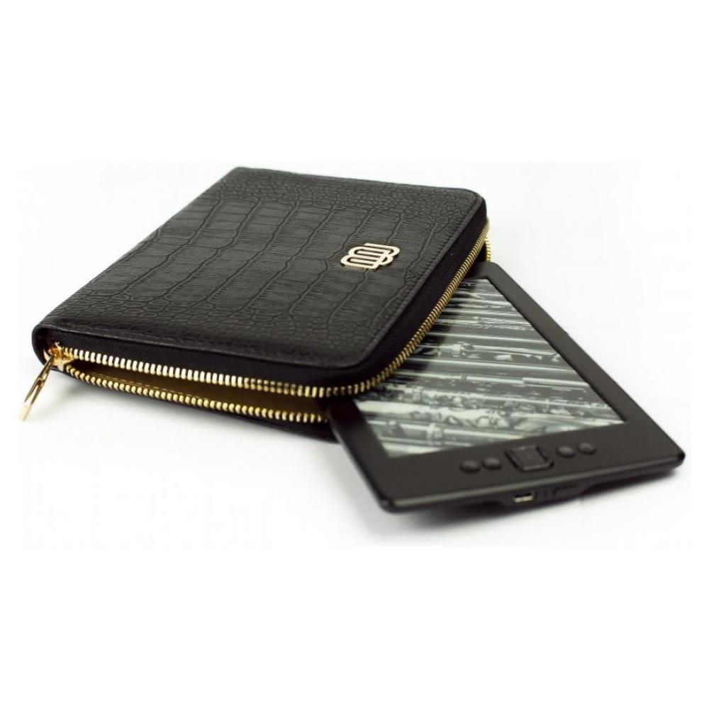 mybook Универсальный кожаный чехол Wallet Style для планшетов/книг Soul Black (MB30464) 23213-10