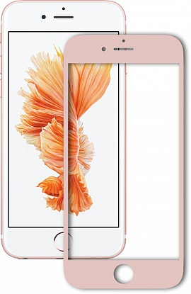 Защитное стекло Mocolo 2.5D Full Cover Tempered Glass iPhone 7 Silk Rose 10507-16