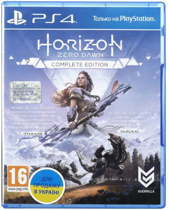 Игра PS4 Horizon Zero Dawn. Complete Edition [Blu-Ray диск] 35101-42