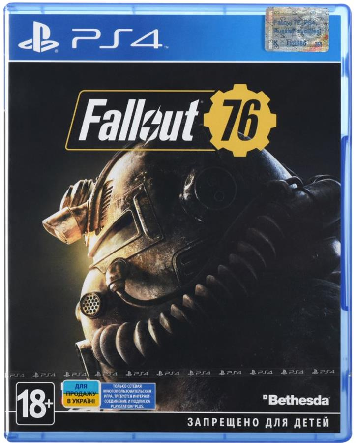 Игра PS4 Fallout 76 [Blu-Ray диск] 35094-42