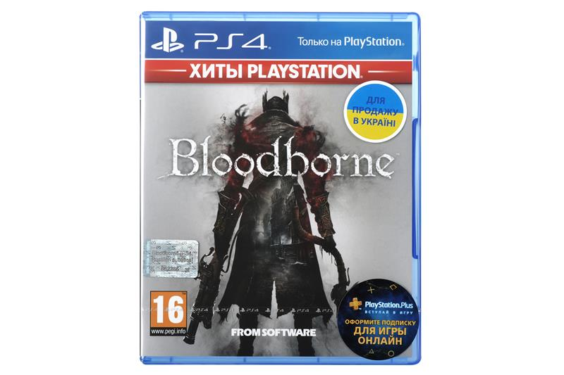 Игра PS4 Bloodborne [Blu-Ray диск] 35087-42