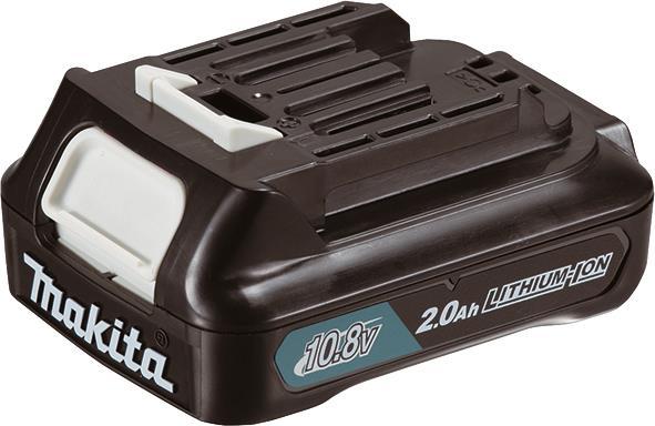 Аккумулятор Makita CXT BL1020B, Li-Ion, 10,8В 2Ач, индикация разряда, 0,215 кг 34061-42