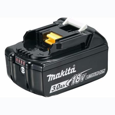 Аккумулятор Makita LXT BL1830B, Li-Ion, 18В, 3Ач, индикация разряда, 644 г 34063-42