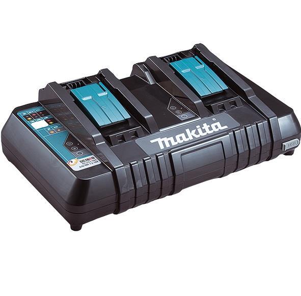 Зарядное устройство Makita DC18RD (630868-6) на 2 батареи, LXT, 14,4-18 В, быстрый заряд 34067-42