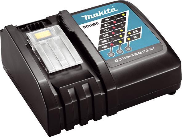 Зарядное устройство Makita LXT DC18RC, LXT, 7,2-18 В, быстрый заряд 34069-42