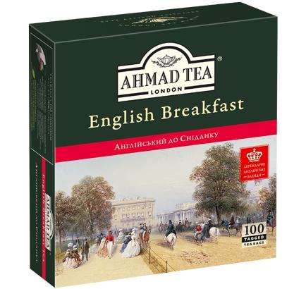 ахмад Ahmad Tea Английский к завтраку в пак, 100х2г 054881006002