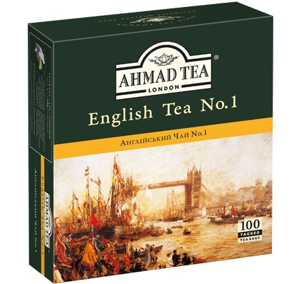 ахмад Ahmad Tea Английский №1 в пак, 100х2г 054881005982