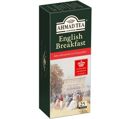 ахмад Ahmad Tea Английский к завтраку в пак, 25х2г 054881005906