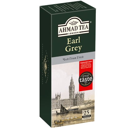 ахмад Ahmad Tea Граф Грей в пак, 25х2г 054881009690