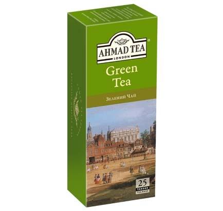ахмад Ahmad Tea Зеленый в пак, 25х2г 054881005890