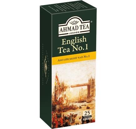 ахмад Ahmad Tea Английский №1 в пак, 25х2г 054881005999