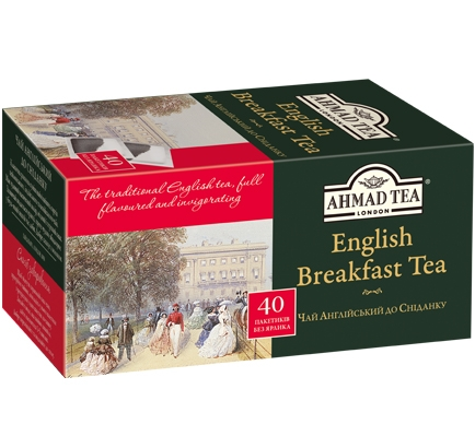 ахмад Ahmad Tea Английский к завтраку в пак, 40х2г 054881009188