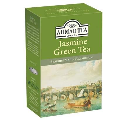 ахмад Ahmad Tea Зеленый с жасмином, 75г 054881009546